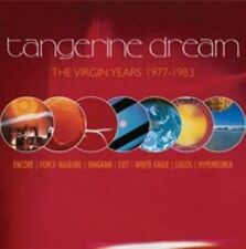 Tangerine Dream The Virgin Years 1977-1983 CD 5 Disc BOXPOP 2012
