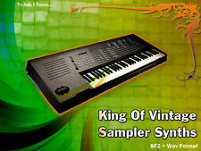EMAX KING OF VINTAGE campionatore sintetizzatori-SF2-download! KIT sintetizzatori BASS FX PADS
