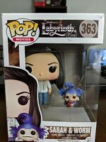 Funko Pop Labyrinth Sarah And The Worm Plus Jareth