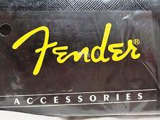 "FENDER ACCESSORIES Guitar Monogrammed 2"" Strap Black (SET of 4)"