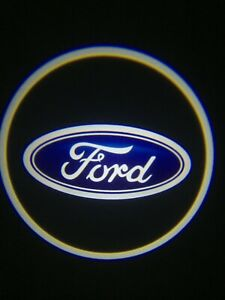 For Ford Courtesy Door LED Logo Projector Light 2Pc Welcome Light F150 Explorer