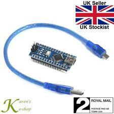 Arduino Nano v3.0 ATmega 328p ch340g compatible Board & USB CABLE soldered