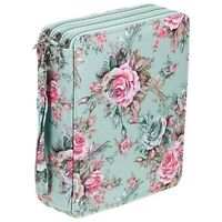 120 Slots Colored Pencil Case with Compartments Pencil Holder for Watercolo X8Q5