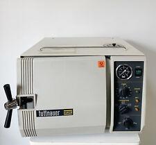 Tuttnauer Autoclave Valueklave 2340m Steam Sterilizer Sn 9112894 Clean