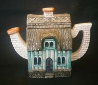 Thatched Cottage Teapot Leonardo Collectable 5 Inch | FREE Delivery UK*