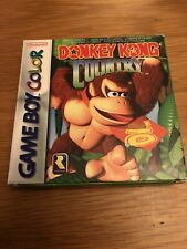 Donkey Kong Country Nintendo Game Boy Color Boxed With Manual
