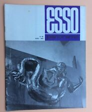 Magazine d'entreprise ESSO PANORAMA n°66 Avril 1969 Pétrole Oil Industry