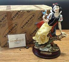 Giuseppe Armani Snow White with Bluebird 209 Italy Mint in Box