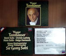 Richard Wagner, Tannhäuser (Paris version), Ed. Decca, 1985