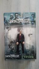 """THE MATRIX """" THE FILM""""  Figurine CYPHER  WB Toy et N2TOYS comme NEUF"""