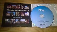 CD Pop Million Dollar Orchestra - Better Days (8 Song) BBE REC