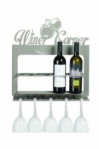 Porta bottiglie di design moderno Wine Corner Arti e Mestieri