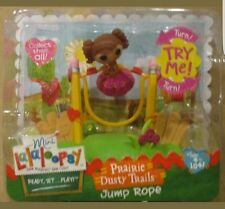 Lalaloopsy mini Doll Prairie Dusty Trail Jump Rope Action Playset playground NIP