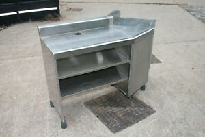 Commercial Kitchen Bar Stainless Steel Units