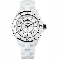 Chanel Chanel J12 33mm H0968 White Ceramic Ladies Watch!!!