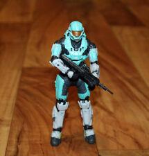 Halo 2 3 Reach Airborne Cyan AMDEC Spartan figure McFarlane toys 2010 Xbox 360