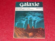"BIBL.H. & P J. OSWALD MAGAZINE ""GALAXY"" #109 2eSérie June 1973 Keith Laumer SOLE"