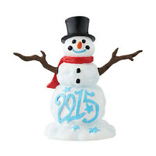 Dept 56 2015 Lucky The Snowman #4047548 NIB FREE SHIPPING 48 STATES