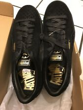 Puma Suede Batman Black 9.5 Sneakers Logo Yellow Dc Limited Edition Robin Rare X