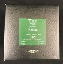Dammann Freres The Vert Au Jasmin Sachets 25 count Expires 01/2020 New