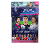 2019-20 TOPPS UEFA CHAMPIONS LEAGUE STICKERS STARTER ALBUM + 25 STICKERS