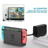 Single Voltage AC Charger for Nintendo Switch Wall Home Travel Charger Plug Cord