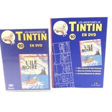 Les Aventures de Tintin #10 L'Ile Noire - DVD Atlas + Fascicule