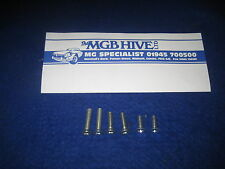 CLASSIC MGB MIDGET DOOR LOCK AND LATCH BOLT SCREW KIT  MG TRIUMPH JAGUAR.   EB95