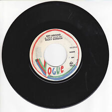 "GORDON Ricky Vinyl 45 tours SP 7"" GET AROUND - A SONG FOR ROSY - VOGUE 370 RARE"