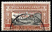 Colonie Somalia 1924 Manzoni n. 58 usato (m659b)
