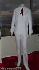 "New ELVIS (WHITE) ""If I Can Dream"" Pants (Tribute Artist Costume) Jumpsuit Era"
