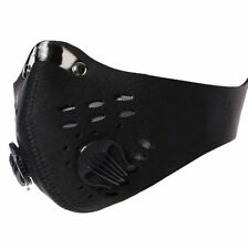 Winter Half Face Mask Anti Dust Filter Bicycle Motor Riding Running Ski Black