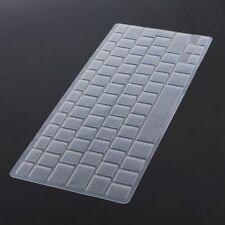 "Silicon Keyboard Cover Skin Protector EU UK for Apple Mac Pro 13"" 15"" 17"" Air 13"