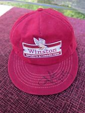 WINSTON SPORTS CORD HAT SIGNED BY RICHARD PETTY GREAT MANCAVE LOOT