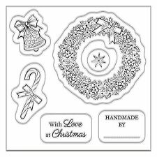 A CHRISTMAS WISH Mini Clear Stamp Set - Docrafts