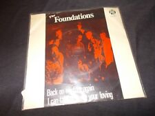 "THE FOUNDATIONS Back On My Feet Again 45 RPM UK 7"" '68 PYE Picture Sleeve"
