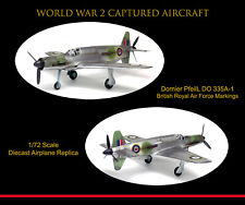 Solido War Master 1/72 Dornier Do 335 Pfeil  Captured World War 2 Aircraft Ltd