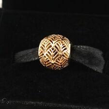 NEW Authentic Pandora 14K Gold Tropicana Charm 750834