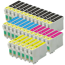 30 Ink Cartridge For Epson C64 C66 C84 C86 Cx3600 Cx3650 Cx4600 Cx6400 Cx6600