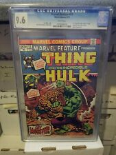 Marvel Feature 11 CGC 9.6 White pages Thing vs Hulk in Thing's first solo series