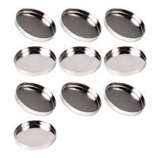 10pcs 26MM Empty Round Pans Tin Eyeshadow Palette Powder Pot Storage Magnetic
