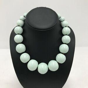 New Kazuri Bead Necklaces x 2 Chunky Choker Blue Gold Statement Jewellery 171204