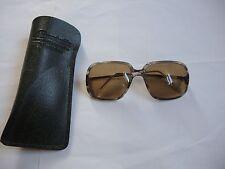 Klassiker !!! Antike Vintage Brille Sonnenbrille ca. 70er 70s mit Stärke -- RAR