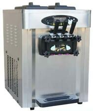28L three flavor Soft Serve Ice Cream Machine soft ice cream machine 220v/110v
