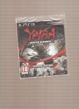 Rare !!! YAIBA NINJA GAIDEN Z Spécial Edition :  Colossal sur PS 3. NEUF Blister