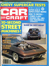 Car Craft Magazine August 1977 Blown 350 Chevy Buildup VG 020416jhe