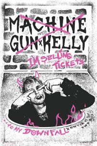 Machine Gun Kelly - Downfall Poster 24x36 inches