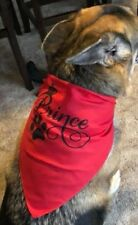 Custom Personalized Dog Bandana / Scarf - Assorted Colors - Small or Large