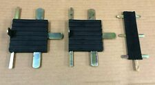 LAND ROVER SERIES 2 & 3 PEDAL RUBBER SET PEDAL PAD RUBBERS - SET OF 3