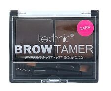 Technic Brow Tamer Eye Eyebrow Shaping Kit Set Palette Wax Powder Brush